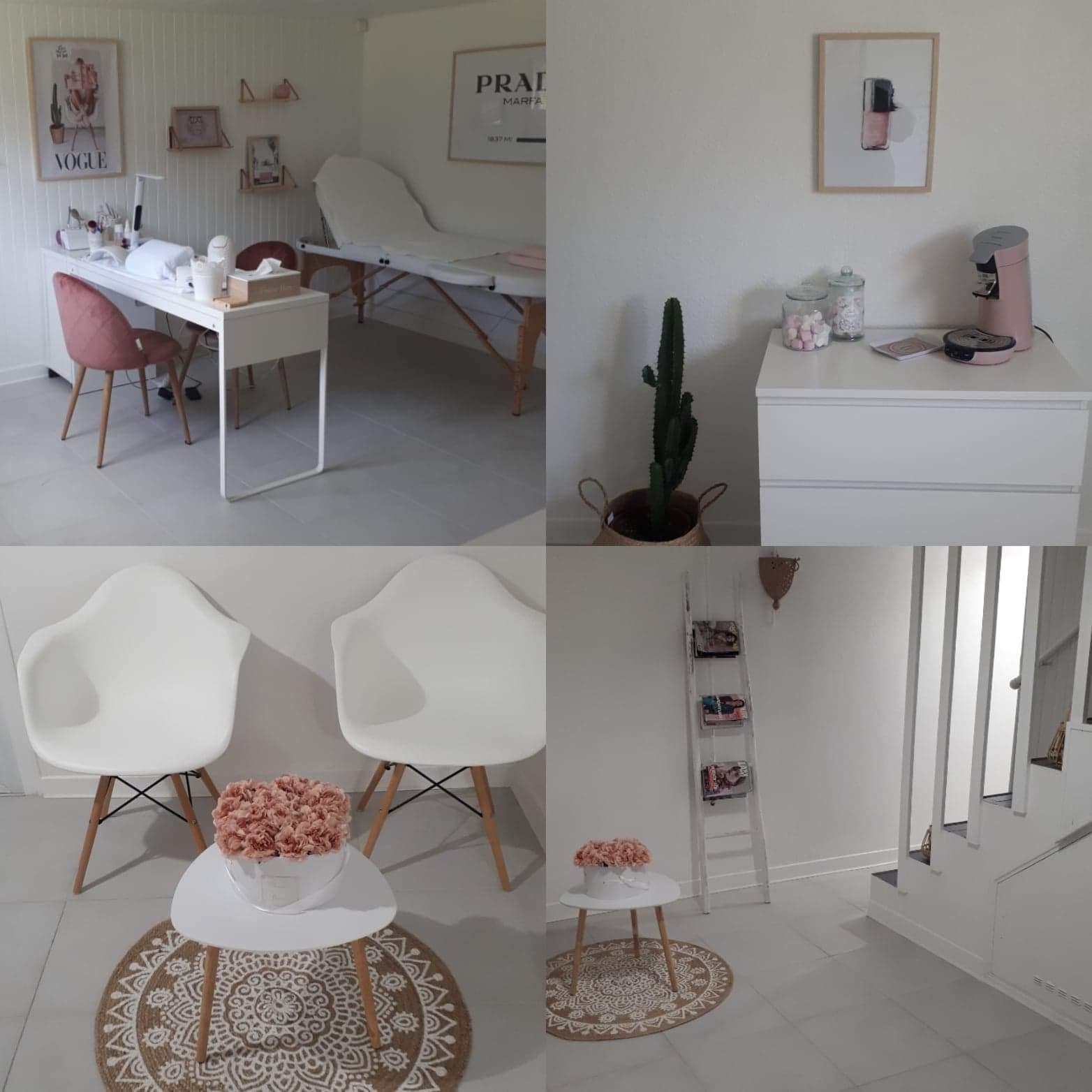 Salon manucure et salle d'attente - Marie Nails Studio